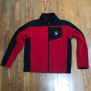 Kids Spyder fleece jacket. Size XL.